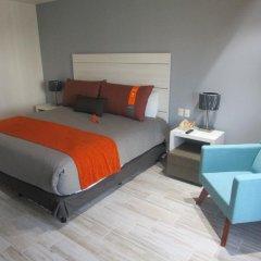 Отель Real Inn Perinorte Тлальнепантла-де-Бас комната для гостей фото 4