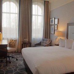 Hilton Glasgow Grosvenor Hotel 4* Номер Делюкс с разными типами кроватей фото 4