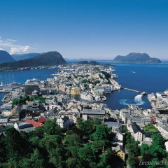 Отель Brosundet Норвегия, Олесунн - отзывы, цены и фото номеров - забронировать отель Brosundet онлайн пляж