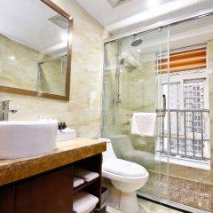 Отель Junhao International Hotel (Xi'an Administration Centre North Railway Station) Китай, Сиань - отзывы, цены и фото номеров - забронировать отель Junhao International Hotel (Xi'an Administration Centre North Railway Station) онлайн ванная фото 2