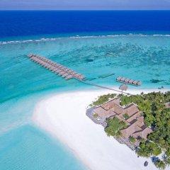 Отель Meeru Island Resort & Spa Мальдивы, Остров Фуранафуши - 10 отзывов об отеле, цены и фото номеров - забронировать отель Meeru Island Resort & Spa онлайн пляж фото 2