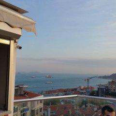 Отель istanbul modern residence балкон