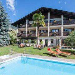 Отель Pension Weingarten Лана бассейн фото 2