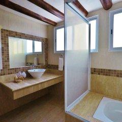 Отель El Campanario Studios & Suites Мексика, Плая-дель-Кармен - отзывы, цены и фото номеров - забронировать отель El Campanario Studios & Suites онлайн ванная