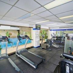 Отель Kingston Suites Bangkok фитнесс-зал