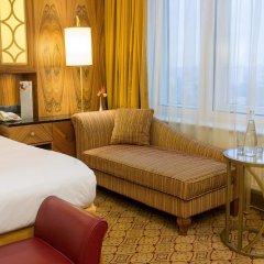 Гостиница Ренессанс Москва Монарх Центр комната для гостей фото 4