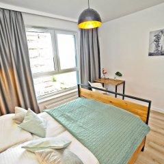 Апартаменты Grand Apartments - Bastion Wałowa Гданьск комната для гостей фото 2