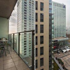 Апартаменты Chopin Apartments Platinum Towers балкон