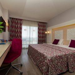 Sunmelia Beach Resort Hotel Сиде комната для гостей фото 5