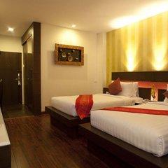 Отель Suvarnabhumi Suite Бангкок комната для гостей фото 2