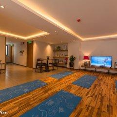 Отель Mojzo Inn Boutique фитнесс-зал