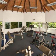 Отель Ocean Blue & Beach Resort - Все включено Доминикана, Пунта Кана - 8 отзывов об отеле, цены и фото номеров - забронировать отель Ocean Blue & Beach Resort - Все включено онлайн фитнесс-зал фото 2