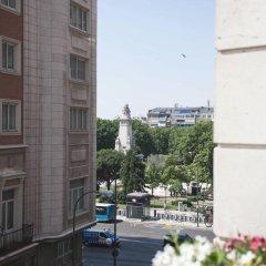Отель Mi Casa Inn Plaza Espana - Adults Only Мадрид балкон