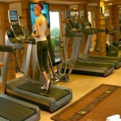 Отель Jaypee Vasant Continental фитнесс-зал фото 2