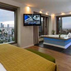 Отель Leonardo City Tower Рамат-Ган комната для гостей фото 2