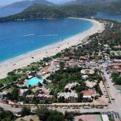 Perdikia Beach Hotel пляж