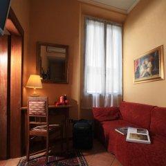 Отель Kursaal and Ausonia Hotel Италия, Флоренция - 5 отзывов об отеле, цены и фото номеров - забронировать отель Kursaal and Ausonia Hotel онлайн комната для гостей фото 5