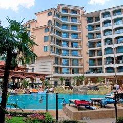 Отель Karolina complex Болгария, Солнечный берег - отзывы, цены и фото номеров - забронировать отель Karolina complex онлайн бассейн фото 3