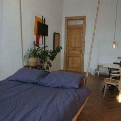 Malevich hostel комната для гостей
