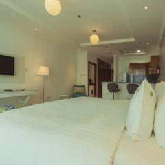 Отель Jannah Marina Bay Suites Стандартный номер с различными типами кроватей