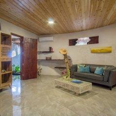 Отель Ninamu Resort - All Inclusive Французская Полинезия, Тикехау - отзывы, цены и фото номеров - забронировать отель Ninamu Resort - All Inclusive онлайн комната для гостей фото 5