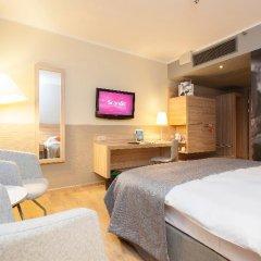 Отель Scandic Wroclaw 4* Стандартный номер с различными типами кроватей фото 11
