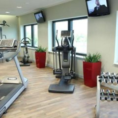 Отель Novotel Muenchen Airport Фрайзинг фитнесс-зал фото 3