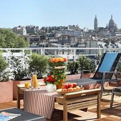 Citadines Apart`Hotel Montmartre Париж бассейн фото 2