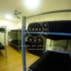 Отель CDMX Hostel Art Gallery Мексика, Мехико - отзывы, цены и фото номеров - забронировать отель CDMX Hostel Art Gallery онлайн интерьер отеля фото 2