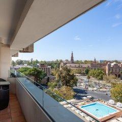 Отель Melia Sevilla балкон