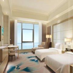 Отель Doubletree Xiamen Wuyuan Bay Китай, Сямынь - отзывы, цены и фото номеров - забронировать отель Doubletree Xiamen Wuyuan Bay онлайн комната для гостей фото 2