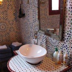 Отель Riad Meftaha Марокко, Рабат - отзывы, цены и фото номеров - забронировать отель Riad Meftaha онлайн ванная