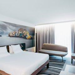 Отель Novotel Paris Coeur d'Orly Airport комната для гостей