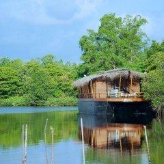 Отель Dedduwa Boat House Шри-Ланка, Бентота - отзывы, цены и фото номеров - забронировать отель Dedduwa Boat House онлайн приотельная территория