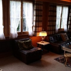 Отель Gstaad - Amazing Lake Chalet интерьер отеля