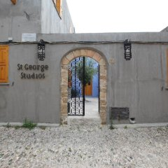 Отель Saint George Studios Греция, Родос - отзывы, цены и фото номеров - забронировать отель Saint George Studios онлайн вид на фасад фото 7