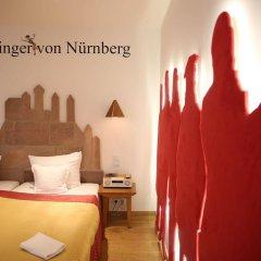 Отель Drei Raben Германия, Нюрнберг - отзывы, цены и фото номеров - забронировать отель Drei Raben онлайн комната для гостей фото 4