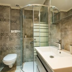Отель Enastron Пефкохори ванная фото 2