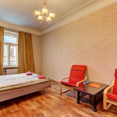 Апартаменты СТН Санкт-Петербург комната для гостей фото 5