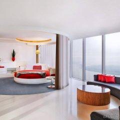 Отель W Seoul Walkerhill Южная Корея, Сеул - отзывы, цены и фото номеров - забронировать отель W Seoul Walkerhill онлайн комната для гостей