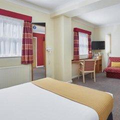 Отель Holiday Inn Express London Victoria комната для гостей фото 6