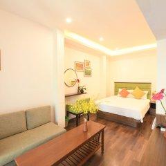 Отель Mr Sun Hotel - Travel Вьетнам, Ханой - отзывы, цены и фото номеров - забронировать отель Mr Sun Hotel - Travel онлайн комната для гостей фото 2