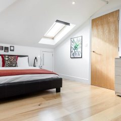 Отель Cosy 1 bedroom in Belsize Park Лондон комната для гостей фото 2