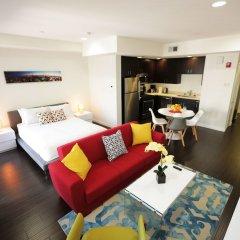 Отель DTLA Grand Residences США, Лос-Анджелес - отзывы, цены и фото номеров - забронировать отель DTLA Grand Residences онлайн комната для гостей фото 5