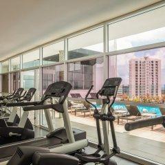 Отель Fiesta Inn Cancun Las Americas Мексика, Канкун - 1 отзыв об отеле, цены и фото номеров - забронировать отель Fiesta Inn Cancun Las Americas онлайн фитнесс-зал