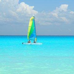 Отель Sunset Fishermen Beach Resort Плая-дель-Кармен приотельная территория