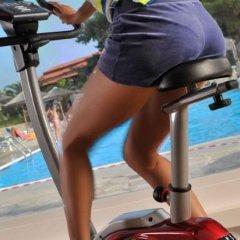 Отель Blue Dolphin Hotel Греция, Метаморфоси - отзывы, цены и фото номеров - забронировать отель Blue Dolphin Hotel онлайн фитнесс-зал фото 3