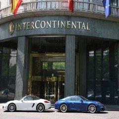 Отель Intercontinental Madrid Мадрид городской автобус