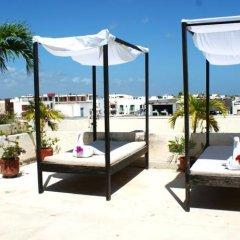 Отель Maya Turquesa Мексика, Плая-дель-Кармен - отзывы, цены и фото номеров - забронировать отель Maya Turquesa онлайн пляж