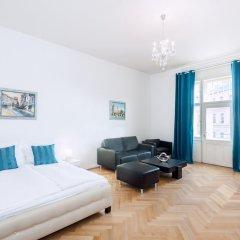 Апартаменты Slovansky Dum Boutique Apartments Прага комната для гостей фото 5